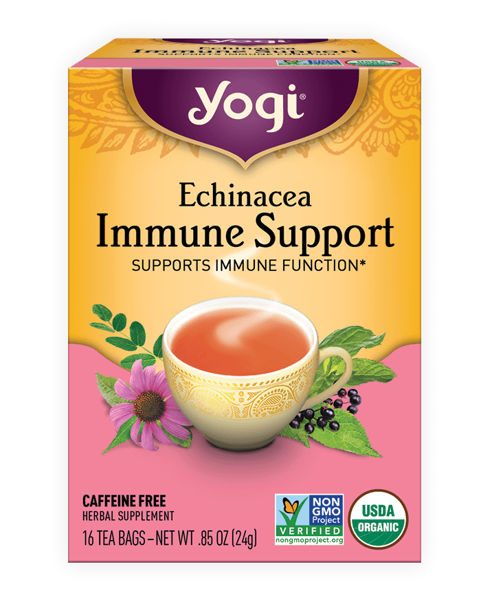 Echinacea <br />Immune Support Tea