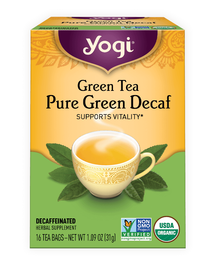 Green Tea Pure <br />Green Decaf Tea