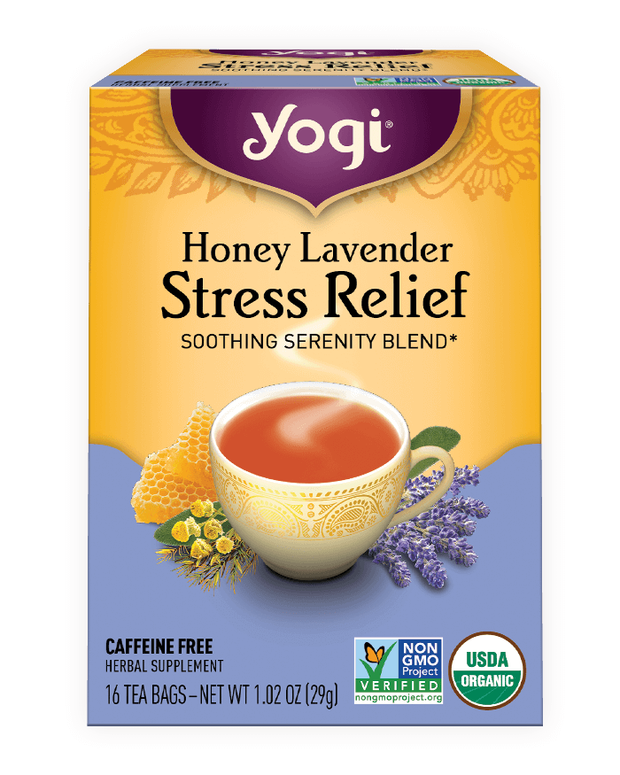Honey Lavender <br />Stress Relief Tea