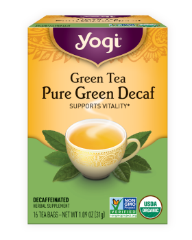 Green Tea Pure Green Decaf | Yogi Tea